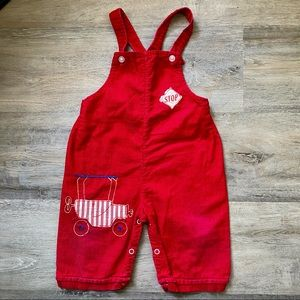 Wonderalls   Red Carriage Overalls